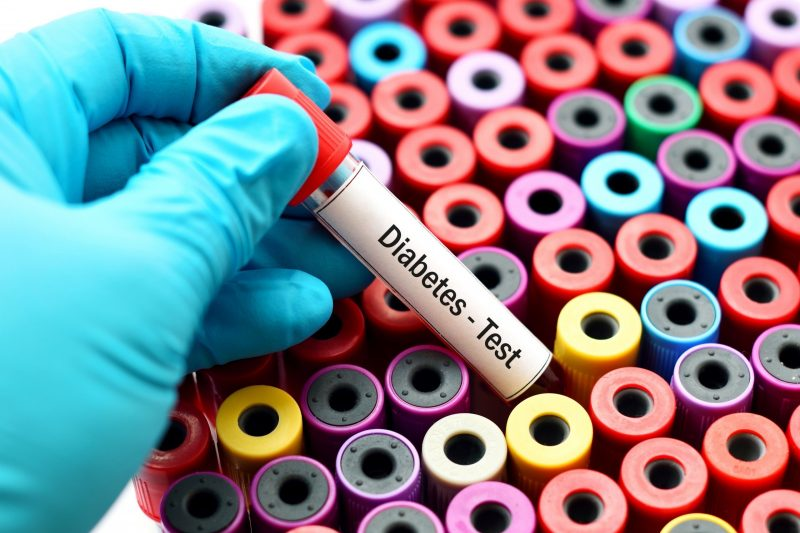 Teste de diabetes