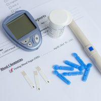 Teste de açúcar no sangue