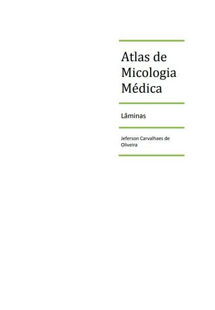 livro atlas micologia medica