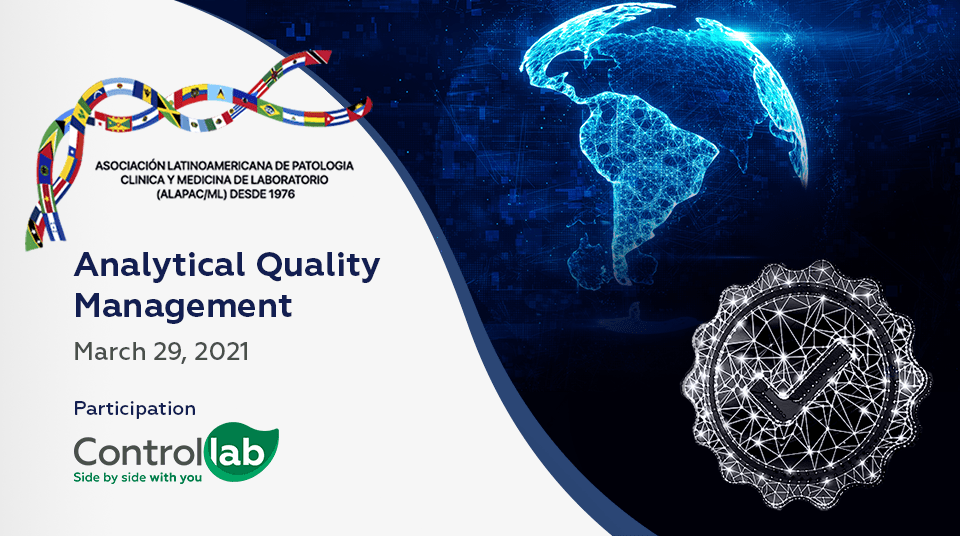Analytical Quality Management will be the theme addressed by Controllab on the second day of ALAPAC/ML